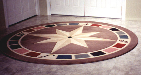 Compass Rose Rugs Home Decor